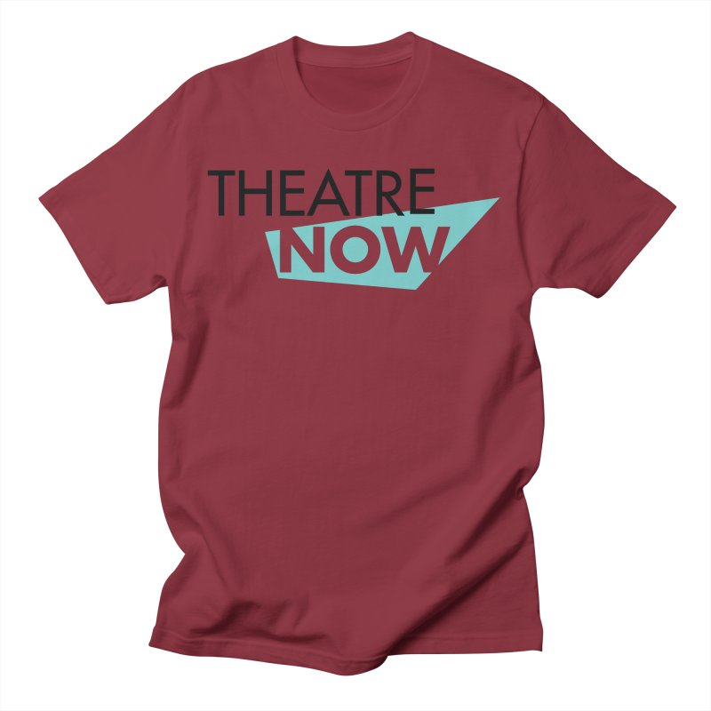 Theatre Now- Teal Men's T-Shirt by TheatreNow's Artist Shop