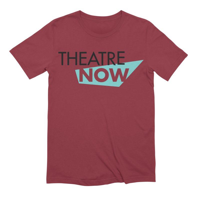 Theatre Now- Teal Men's Extra Soft T-Shirt by TheatreNow's Artist Shop