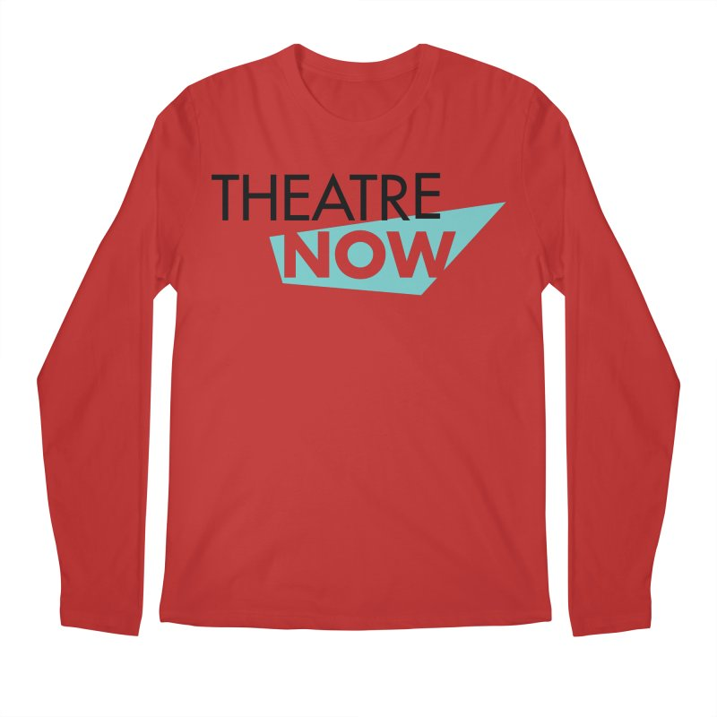 Theatre Now- Teal Men's Regular Longsleeve T-Shirt by TheatreNow's Artist Shop