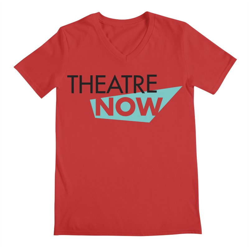 Theatre Now- Teal Men's Regular V-Neck by TheatreNow's Artist Shop