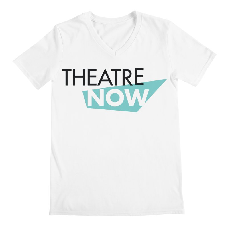 Theatre Now- Teal Men's V-Neck by TheatreNow's Artist Shop