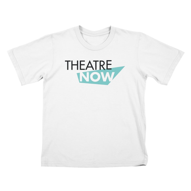 Theatre Now- Teal Kids T-Shirt by TheatreNow's Artist Shop