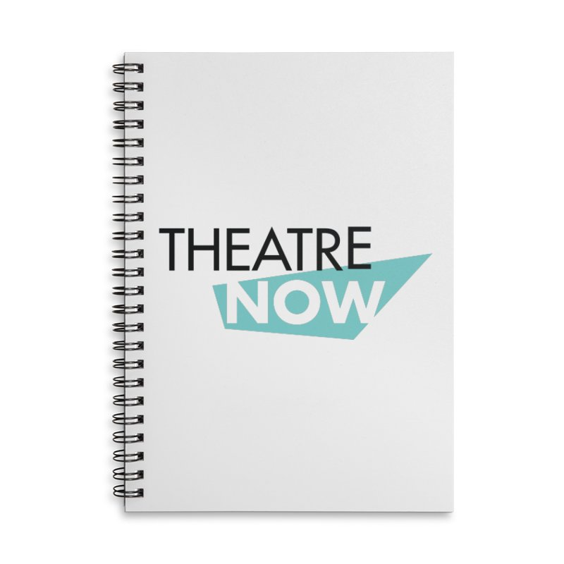 Theatre Now- Teal Accessories Notebook by TheatreNow's Artist Shop