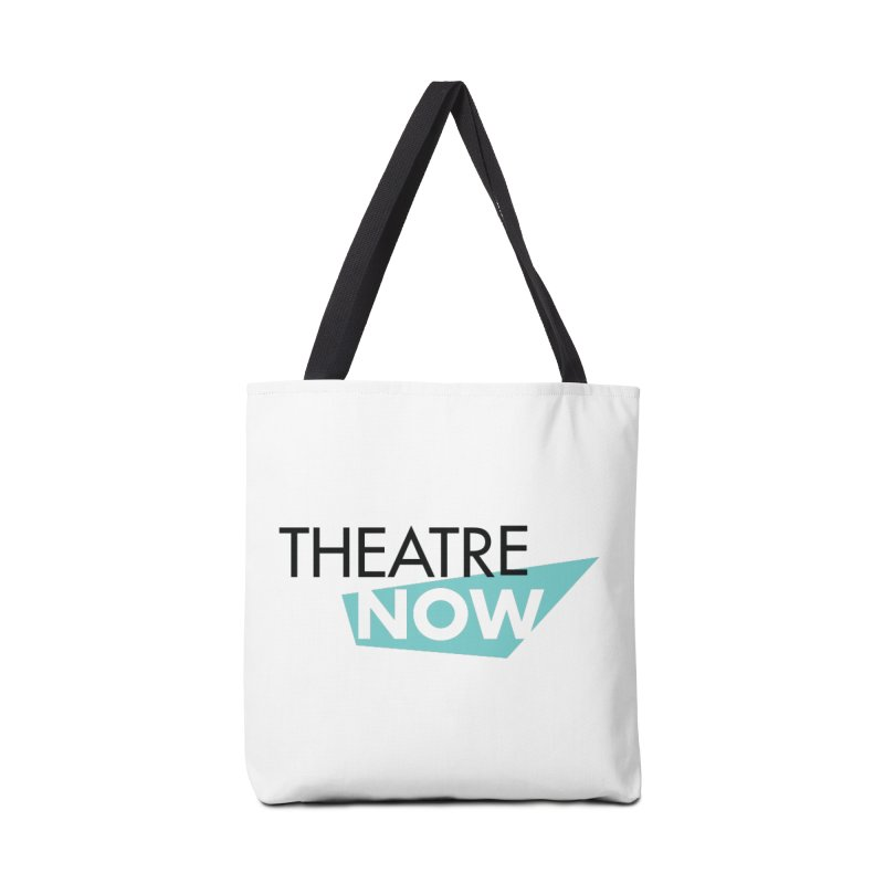 Theatre Now- Teal Accessories Tote Bag Bag by TheatreNow's Artist Shop