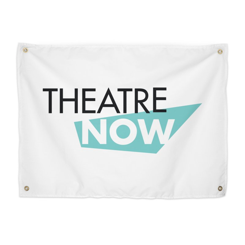 Theatre Now- Teal Home Tapestry by TheatreNow's Artist Shop