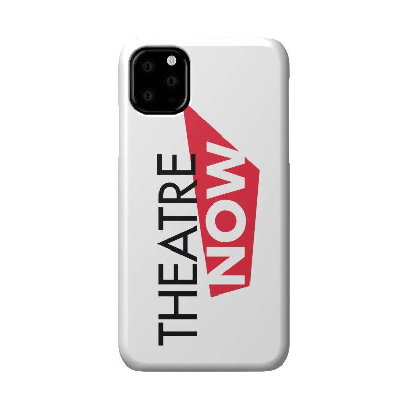 Theatre Now- Red Accessories Phone Case by TheatreNow's Artist Shop