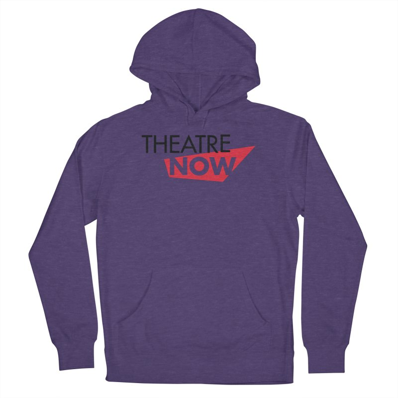 Theatre Now- Red Men's French Terry Pullover Hoody by TheatreNow's Artist Shop