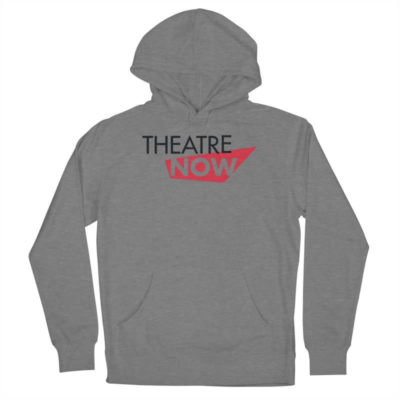 Theatre Now- Red Men's Pullover Hoody by TheatreNow's Artist Shop