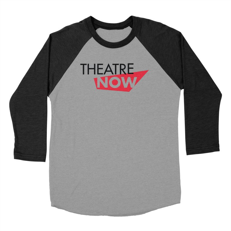 Theatre Now- Red Men's Baseball Triblend Longsleeve T-Shirt by TheatreNow's Artist Shop