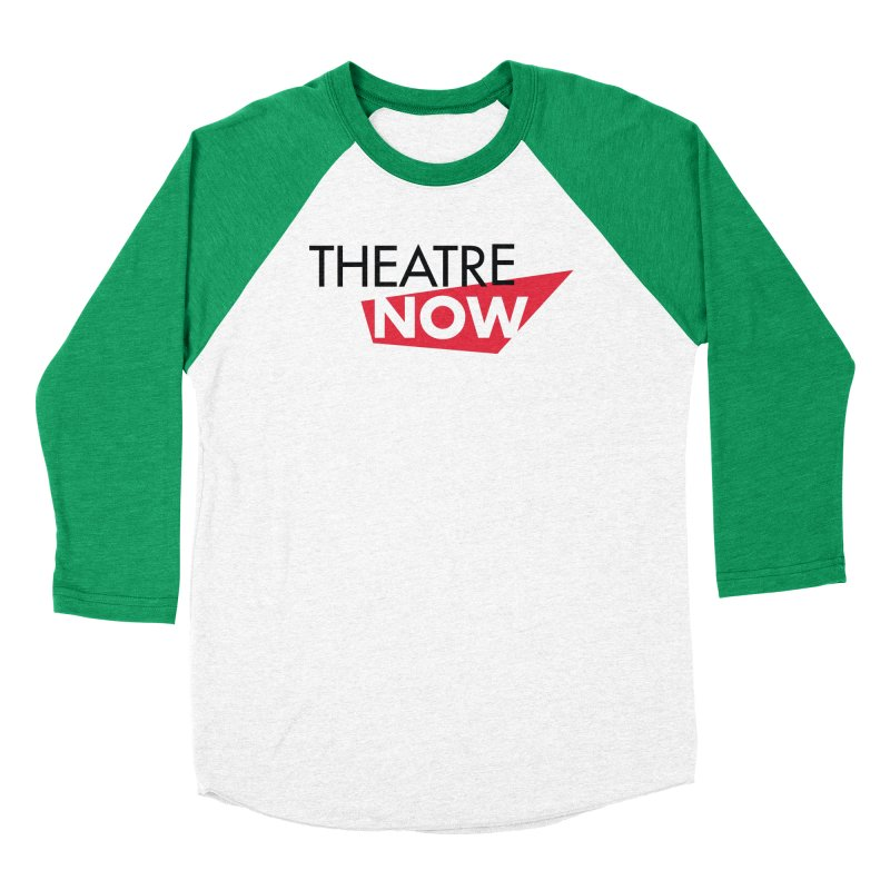 Theatre Now- Red Men's Longsleeve T-Shirt by TheatreNow's Artist Shop