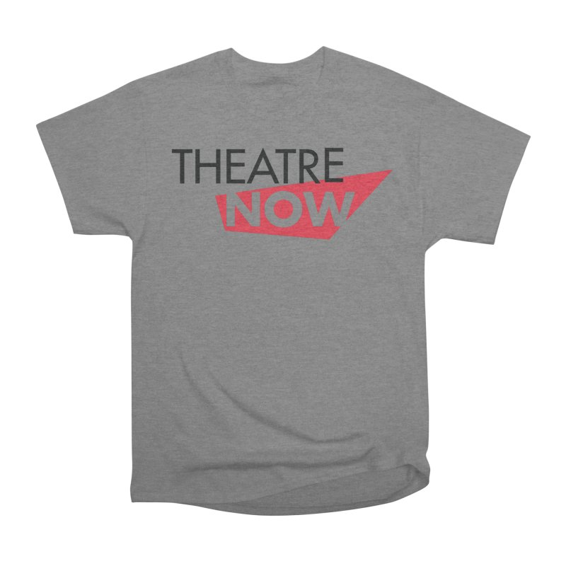 Theatre Now- Red Men's Heavyweight T-Shirt by TheatreNow's Artist Shop