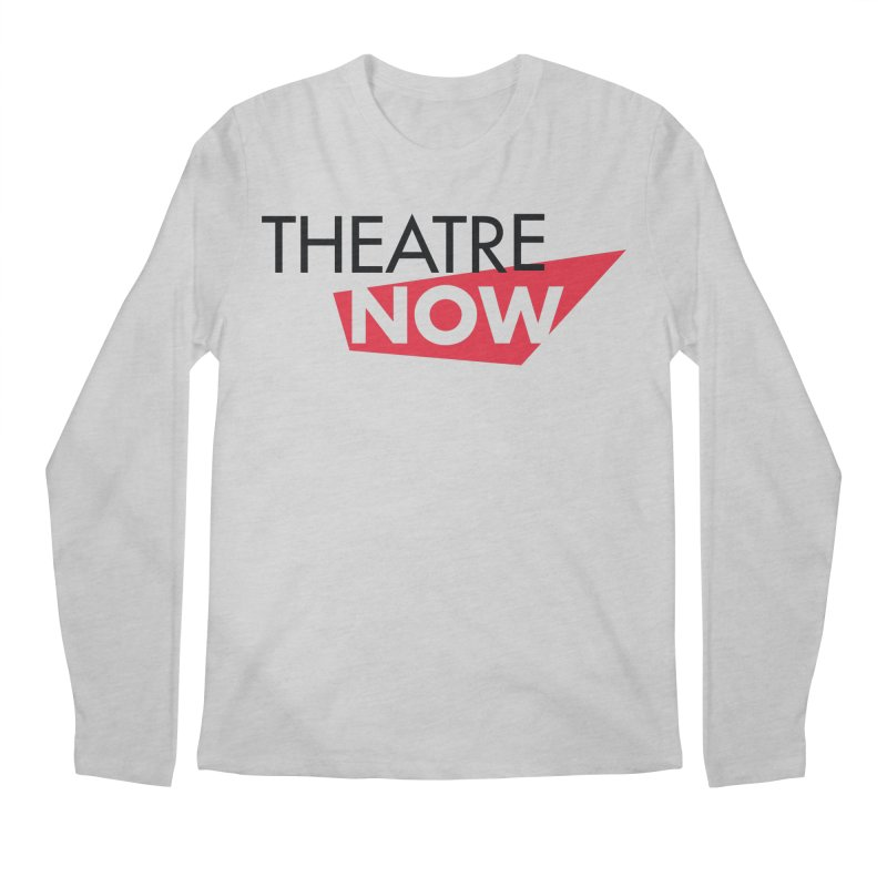 Theatre Now- Red Men's Regular Longsleeve T-Shirt by TheatreNow's Artist Shop