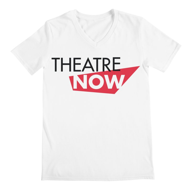Theatre Now- Red Men's Regular V-Neck by TheatreNow's Artist Shop