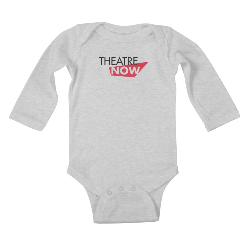 Theatre Now- Red Kids Baby Longsleeve Bodysuit by TheatreNow's Artist Shop