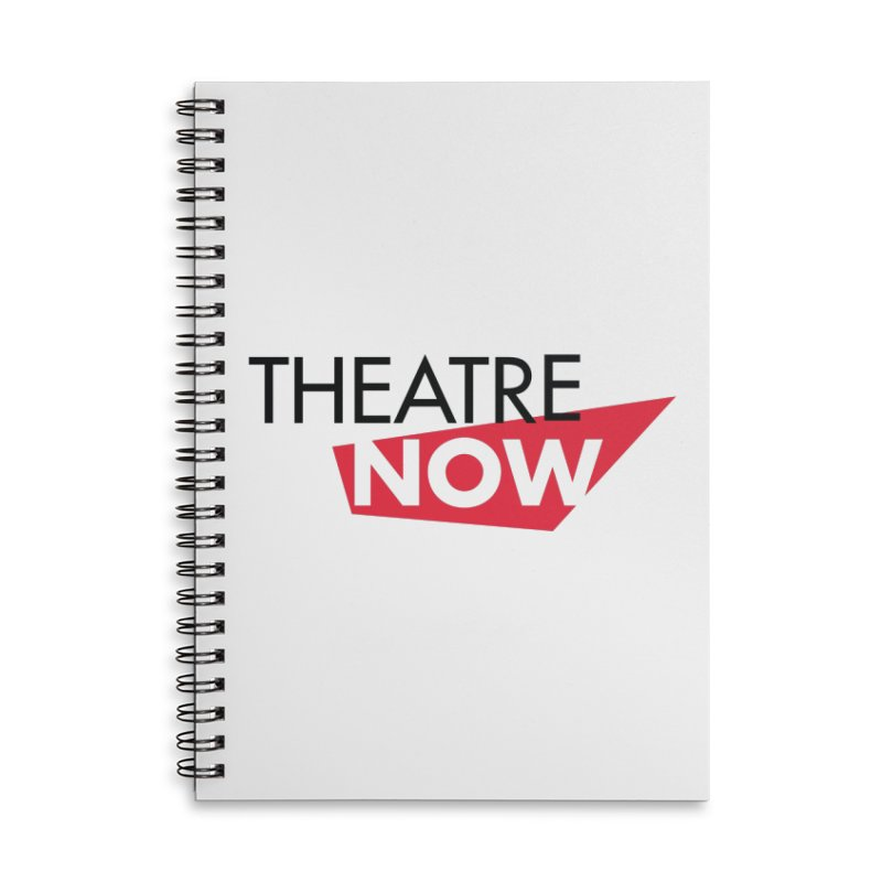 Theatre Now- Red Accessories Notebook by TheatreNow's Artist Shop