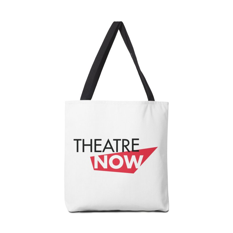 Theatre Now- Red Accessories Tote Bag Bag by TheatreNow's Artist Shop