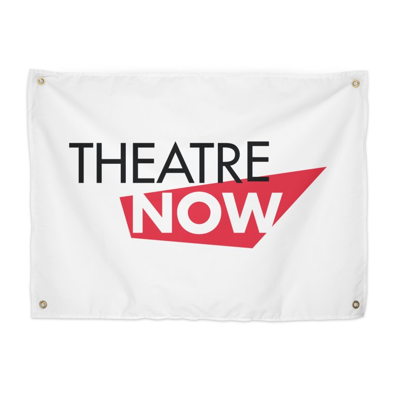 Theatre Now- Red Home Tapestry by TheatreNow's Artist Shop