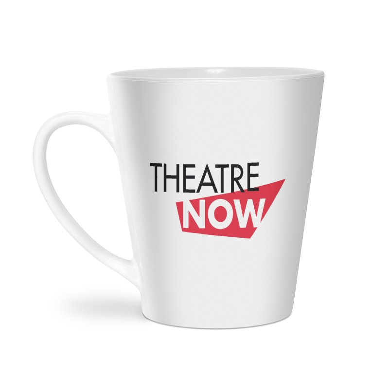Theatre Now- Red Accessories Latte Mug by TheatreNow's Artist Shop