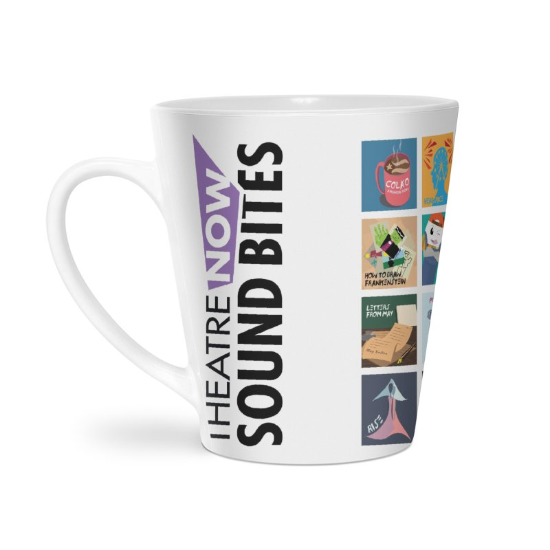 Sound Bites Accessories Latte Mug by TheatreNow's Artist Shop