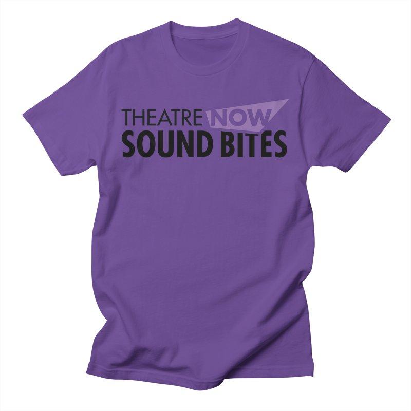 Sound Bites Men's T-Shirt by TheatreNow's Artist Shop