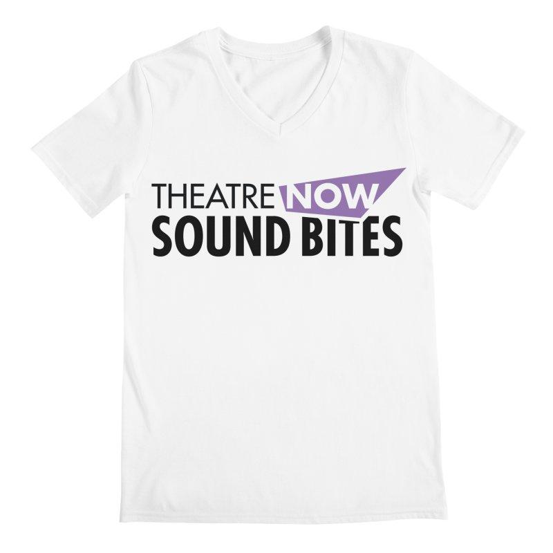 Sound Bites Men's V-Neck by TheatreNow's Artist Shop