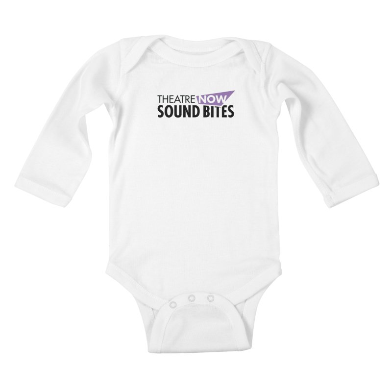 Sound Bites Kids Baby Longsleeve Bodysuit by TheatreNow's Artist Shop