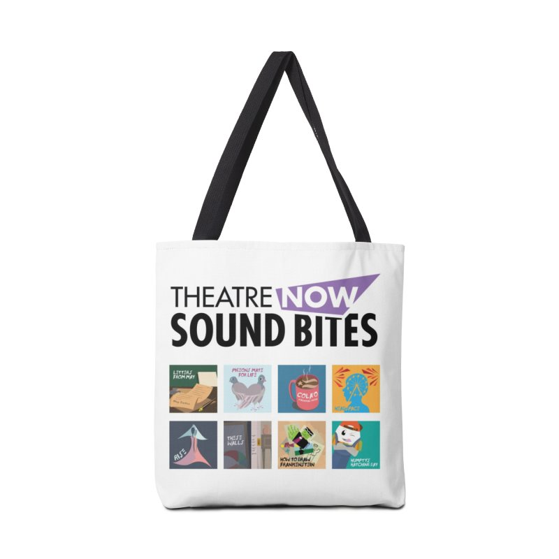 Sound Bites Accessories Bag by TheatreNow's Artist Shop
