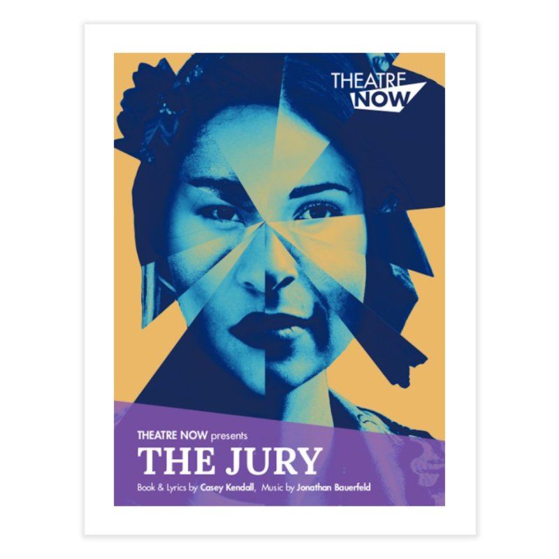 The Jury Home Fine Art Print by TheatreNow's Artist Shop