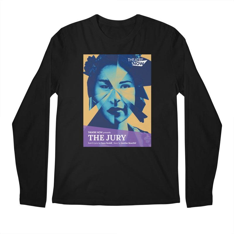 The Jury Men's Regular Longsleeve T-Shirt by TheatreNow's Artist Shop