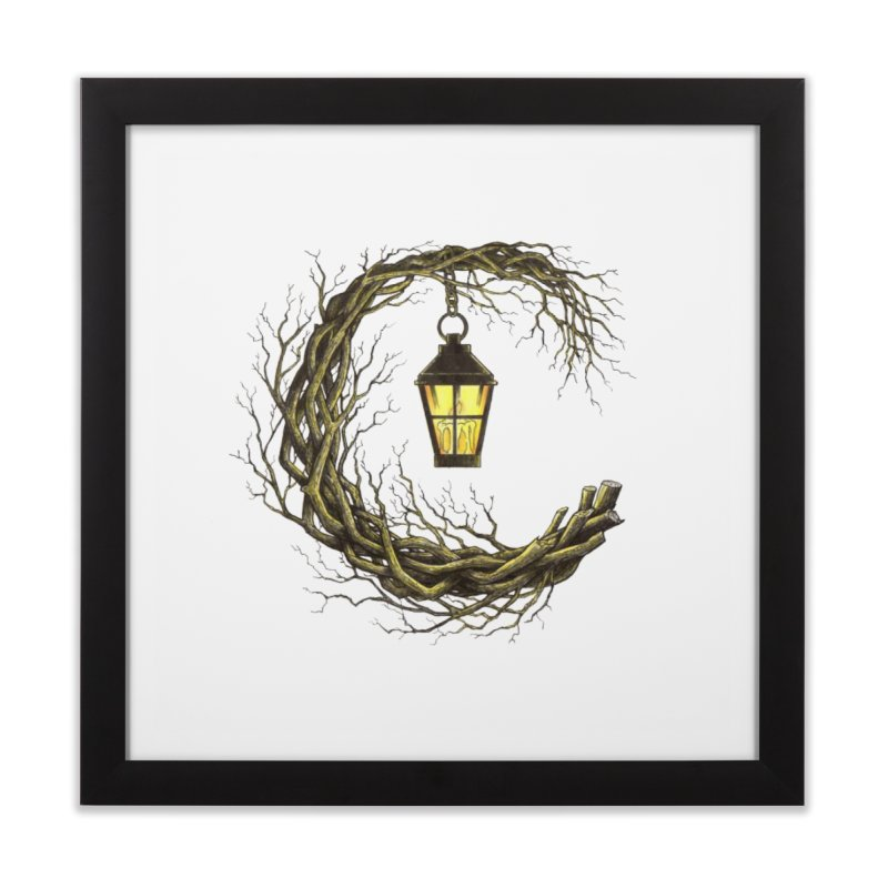 Lighting Your Way Home Framed Fine Art Print by Thecaravanoflore's Artist Shop