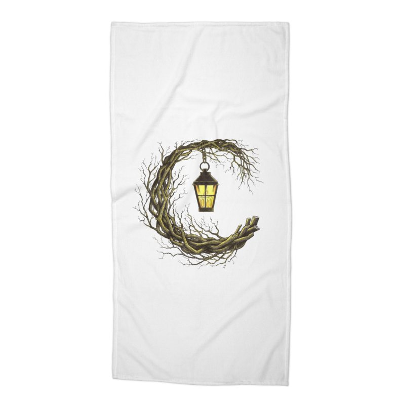 Lighting Your Way Accessories Beach Towel by Thecaravanoflore's Artist Shop