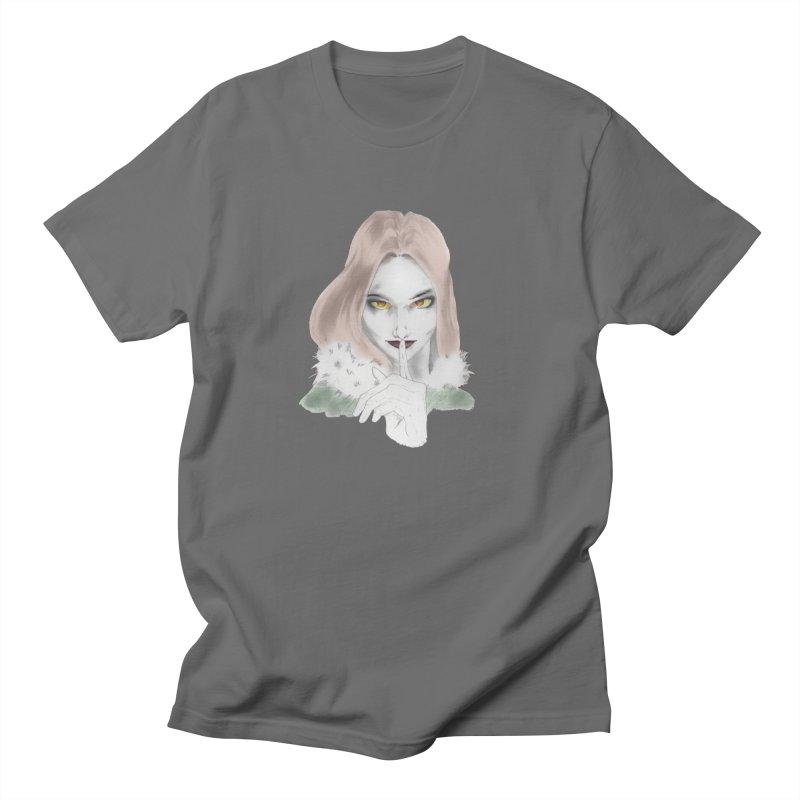 Shushing Woman Men's T-Shirt by Thecaravanoflore's Artist Shop
