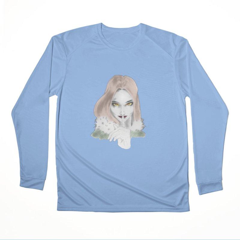 Shushing Woman Men's Longsleeve T-Shirt by Thecaravanoflore's Artist Shop