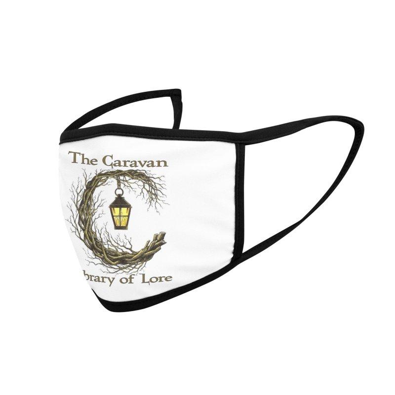 Caravan Library of Lore Accessories Face Mask by Thecaravanoflore's Artist Shop