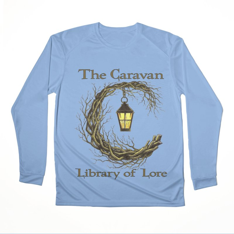 Caravan Library of Lore Men's Longsleeve T-Shirt by Thecaravanoflore's Artist Shop