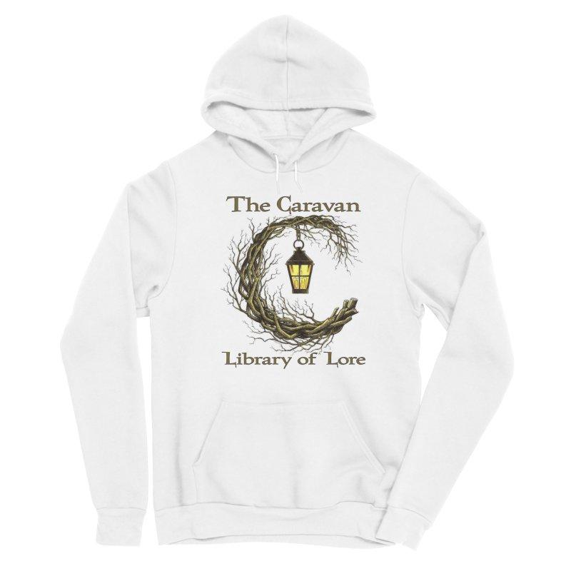 Caravan Library of Lore Men's Pullover Hoody by Thecaravanoflore's Artist Shop
