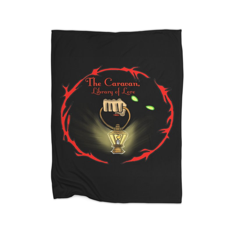Caravan Logo Home Blanket by Thecaravanoflore's Artist Shop