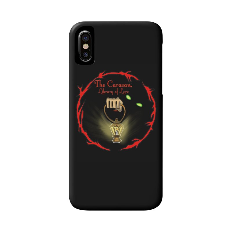 Caravan Logo Accessories Phone Case by Thecaravanoflore's Artist Shop
