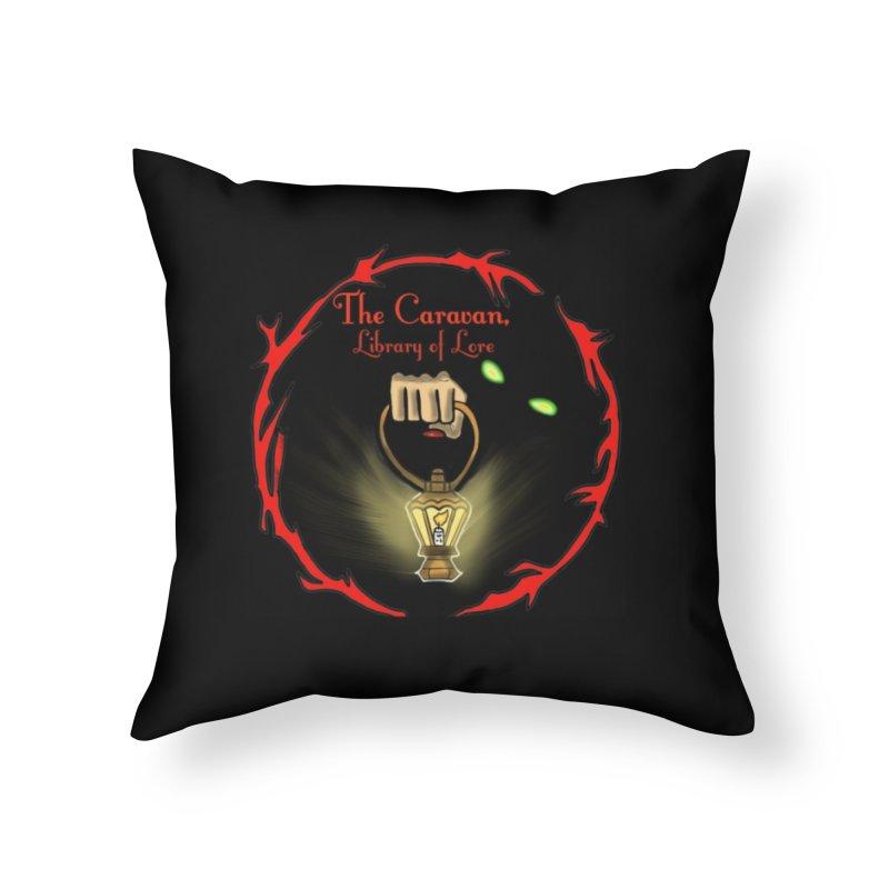 Caravan Logo Home Throw Pillow by Thecaravanoflore's Artist Shop