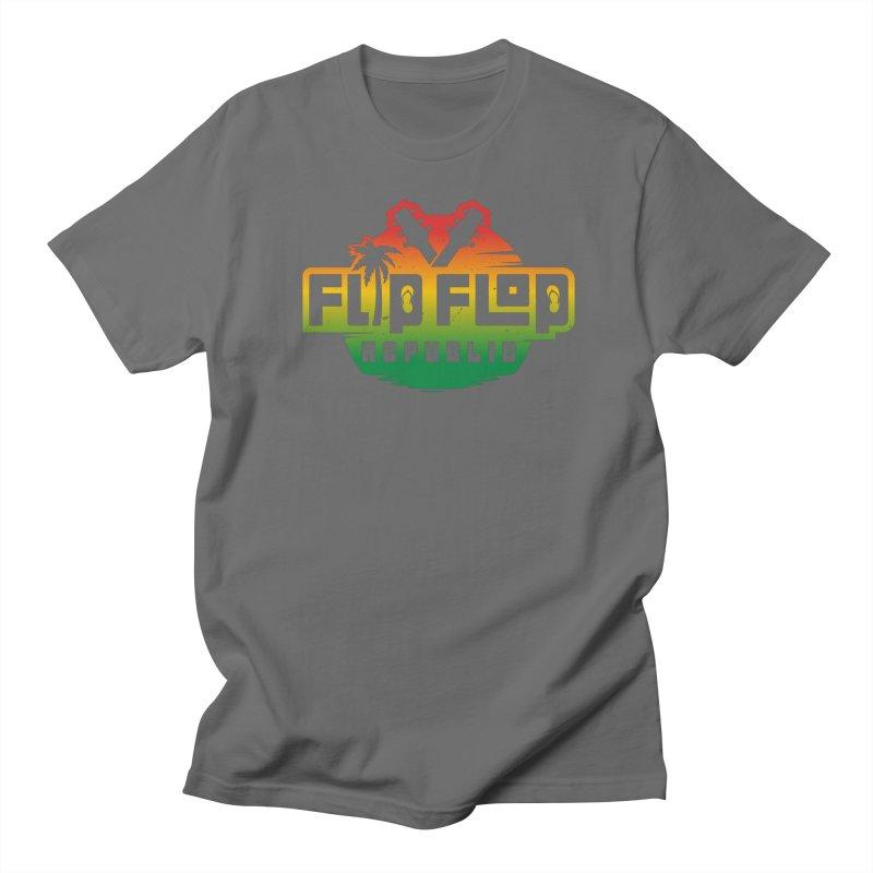 Emerald Sunrise Men's T-Shirt by Flip Flop Republic's Artist Shop