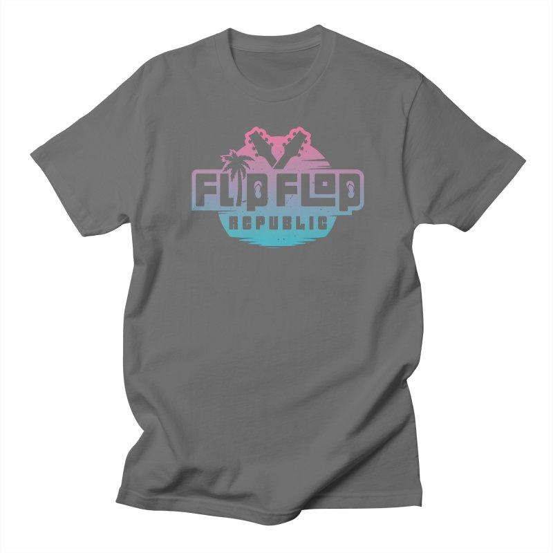 Miami Vice Men's T-Shirt by Flip Flop Republic's Artist Shop