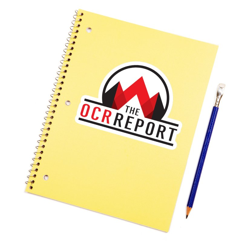 The OCR Report Accessories Sticker by The OCR Report