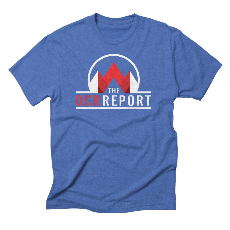 The OCR Report White Men's T-Shirt by The OCR Report