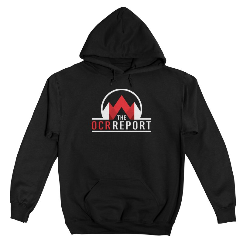 The OCR Report White Men's Pullover Hoody by The OCR Report