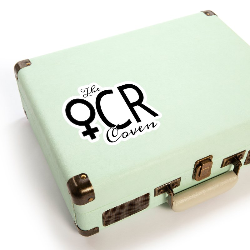 The OCR Coven Black Accessories Sticker by The OCR Report