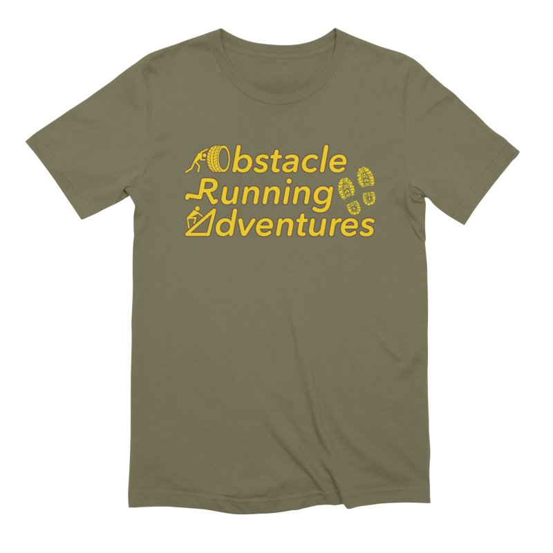 Obstacle Running Adventures Men's T-Shirt by The OCR Report
