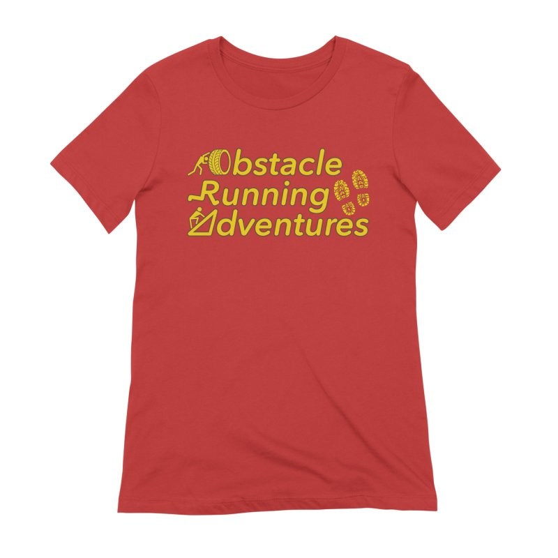 Obstacle Running Adventures Women's T-Shirt by The OCR Report