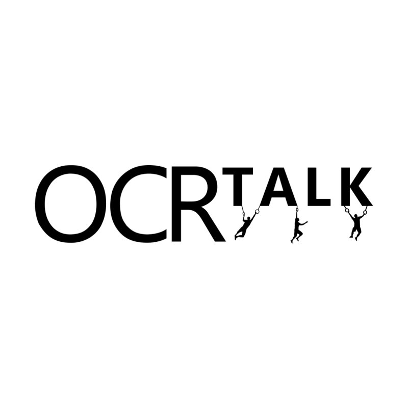 OCR Talk Black Accessories Sticker by The OCR Report