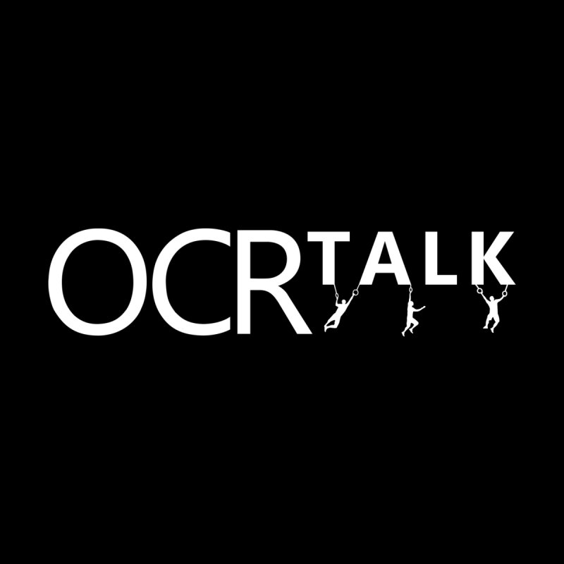OCR Talk White Men's T-Shirt by The OCR Report