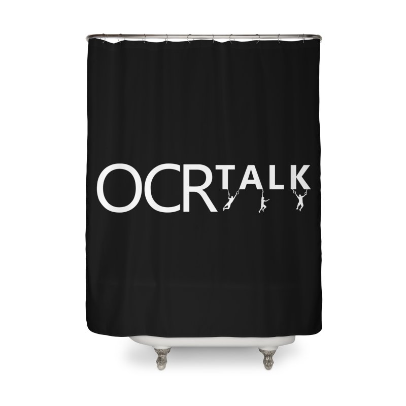 OCR Talk White Home Shower Curtain by The OCR Report